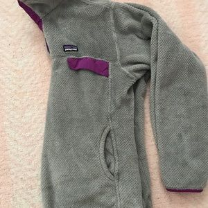 Beautiful Patagonia re-tool fleece snap pull over
